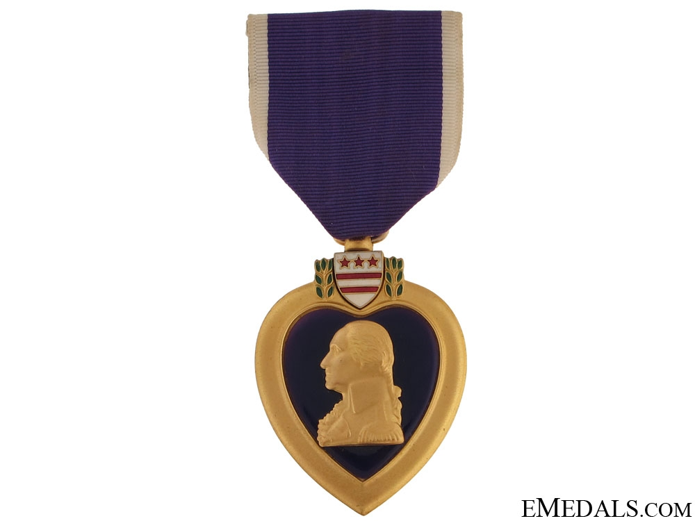 eMedals-Second War Purple Heart - Named