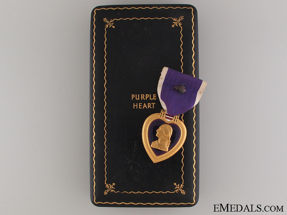 eMedals-A Second War Purple Heart to Anthony Mature