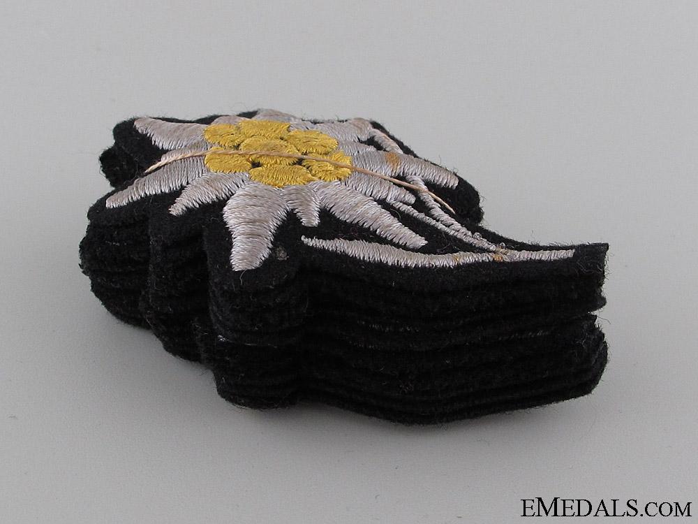 eMedals-Set of 10 Waffen-SS Sleeve Edelweiss