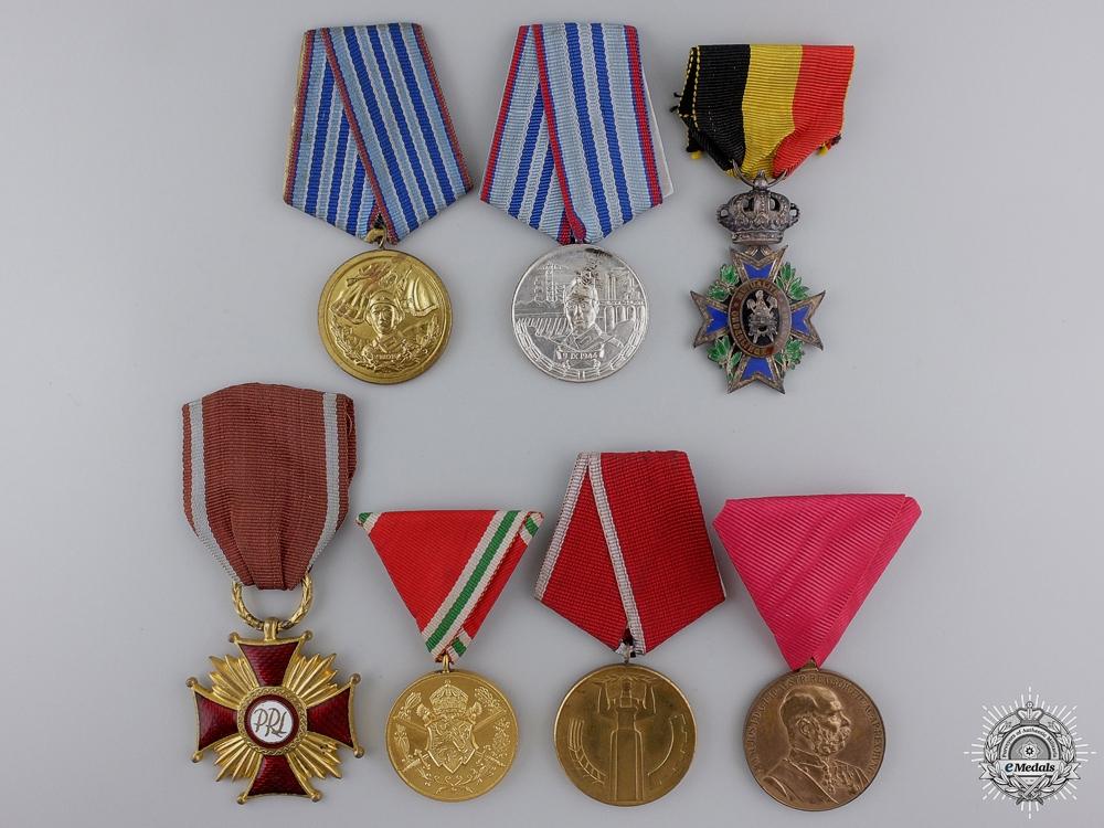 eMedals-Seven European Medals & Awards
