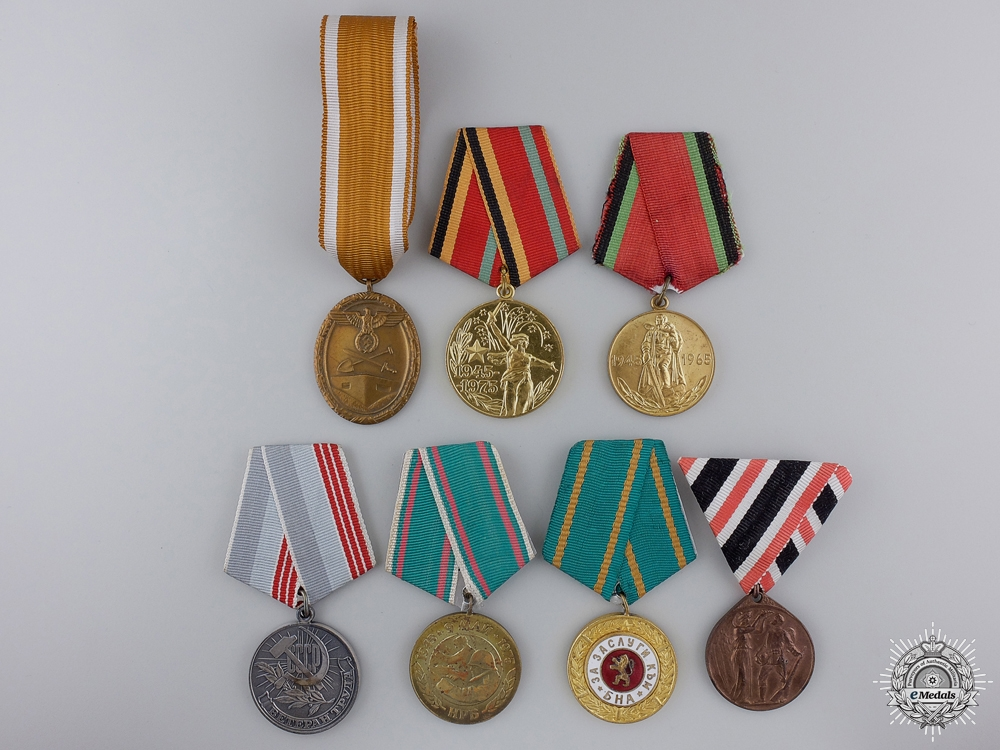 eMedals-Seven European Medals & Awards
