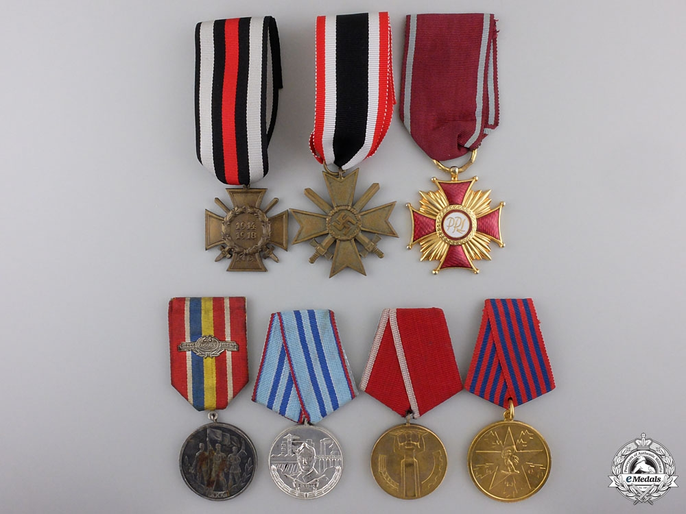 eMedals-Seven European Medals and Awards