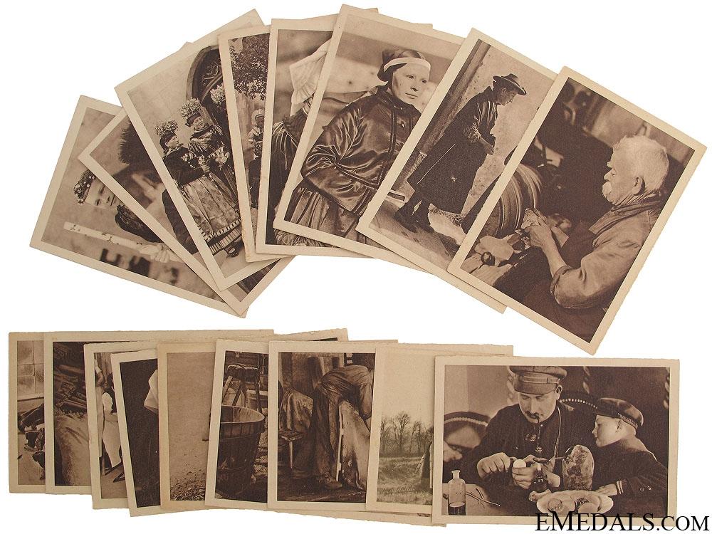 eMedals-Seventeen Winterhilfswerk (WHW) Postcards 1933