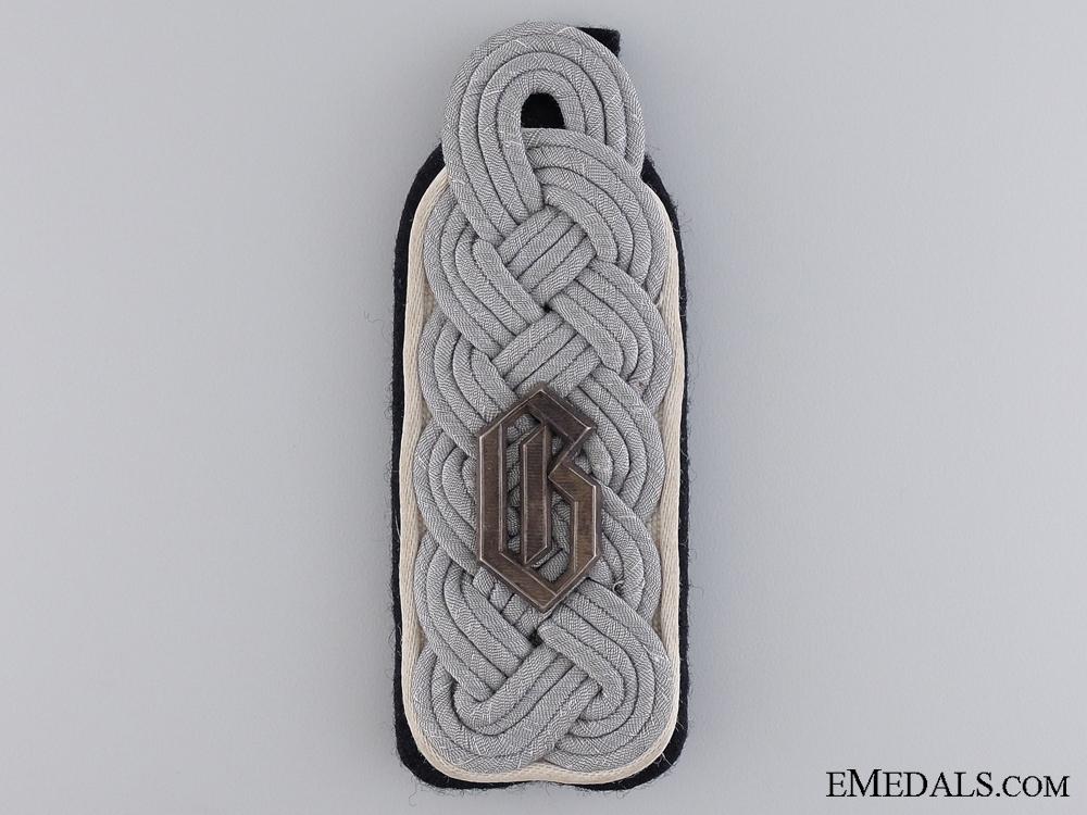 "eMedals-Shoulder Board for an SS-Sturmbannf¡_hrer in SS-Regiment 2 ""Germania"""