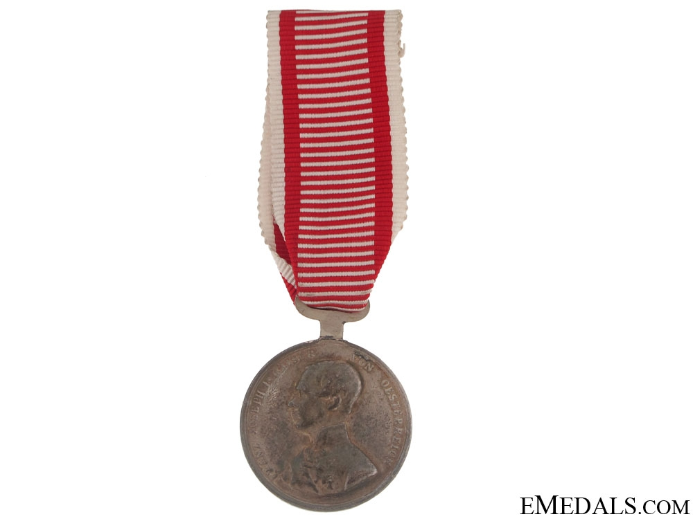 eMedals-Silver Bravery Medal Second Class