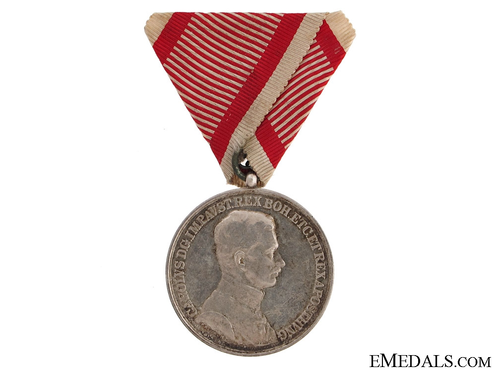 eMedals-Silver Bravery Medal First Class