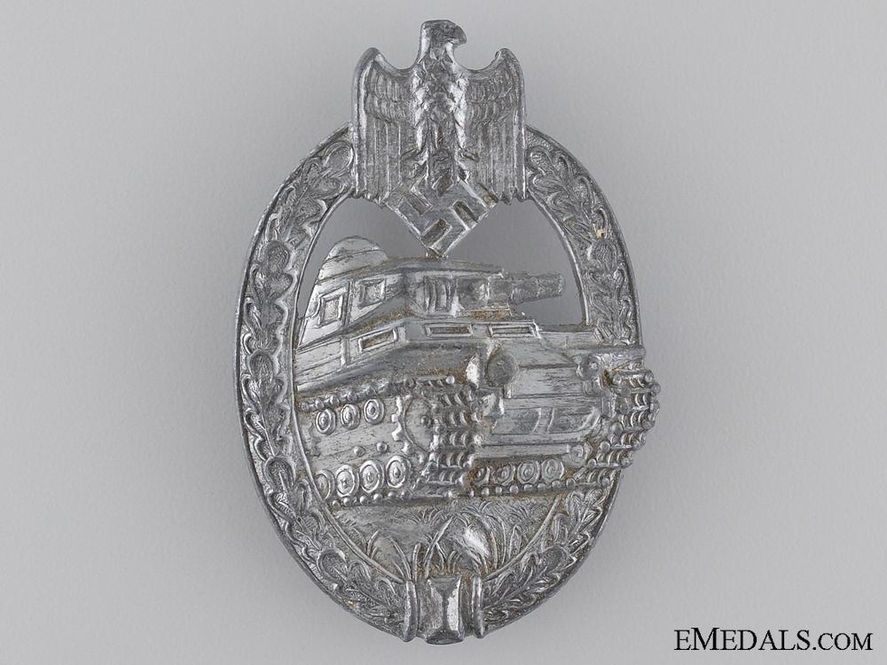 eMedals-Silver Grade Tank Badge
