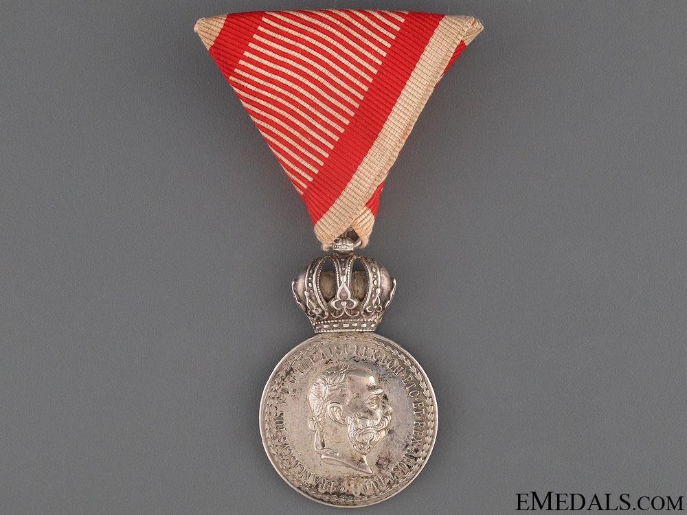eMedals-Silver Signum Laudis - Croatian Zagreb Regiment