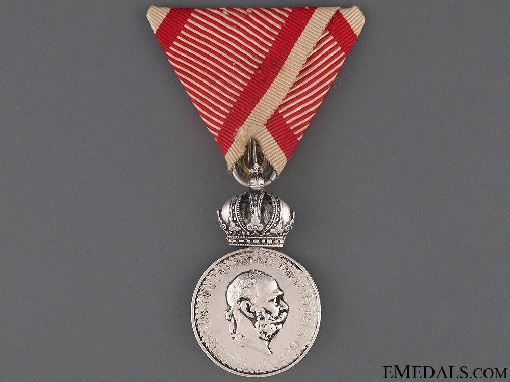 eMedals-Silver Signum Laudis - Bosnian Regiment