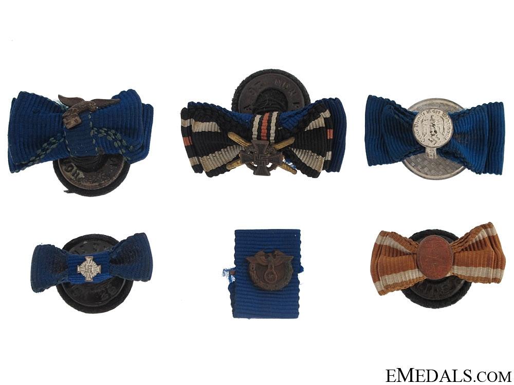 eMedals-Six Button-Hole Miniatures