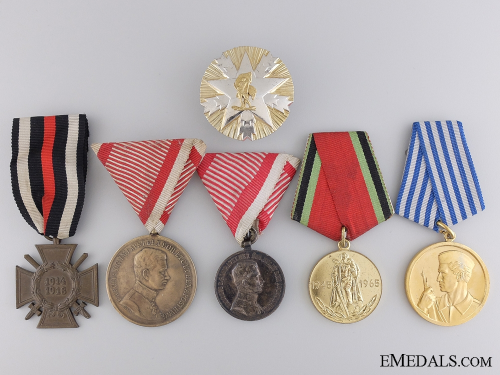 eMedals-Six European Medals & Awards