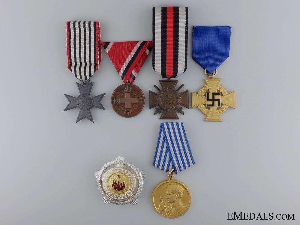 eMedals-Six European Medals & Awards
