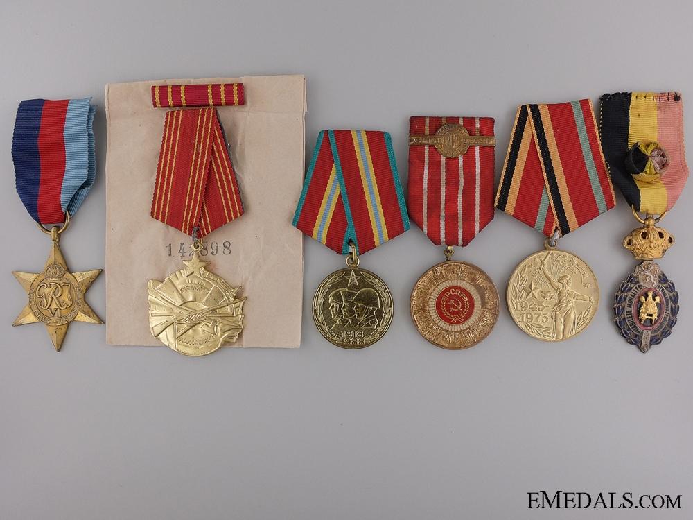 eMedals-Six European Medals