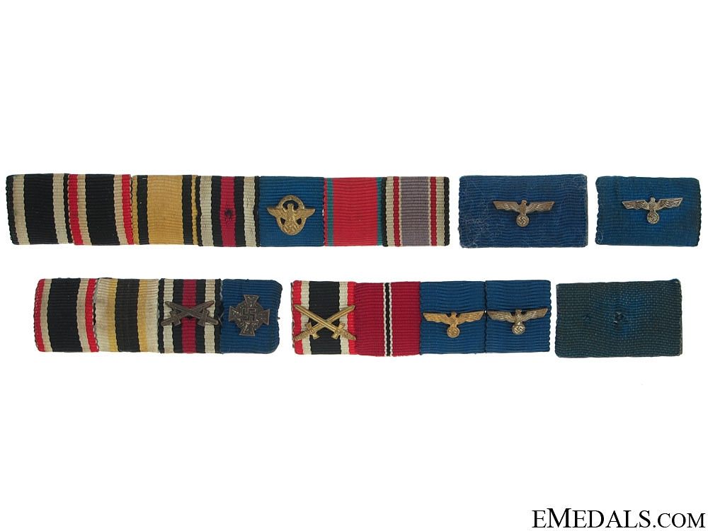 eMedals-Six German Ribbons Bars