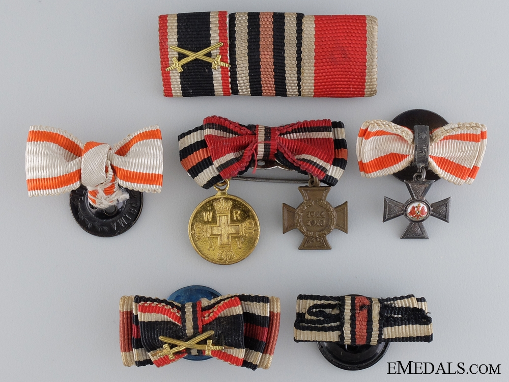 eMedals-Six German Ribbon Bars