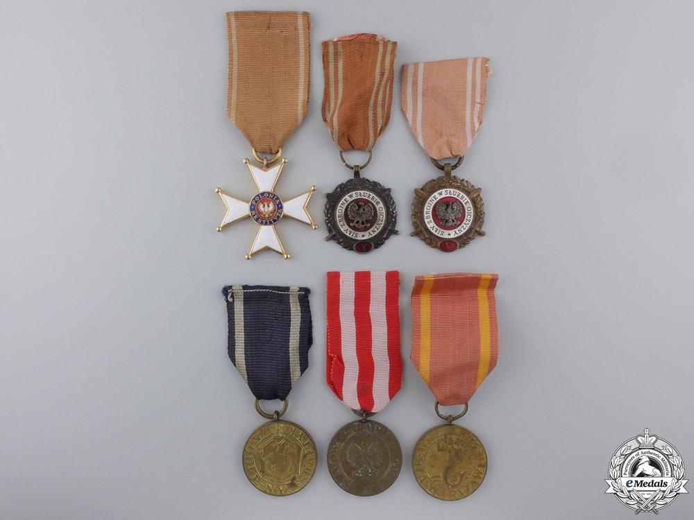 eMedals-Six Polish Medals & Awards