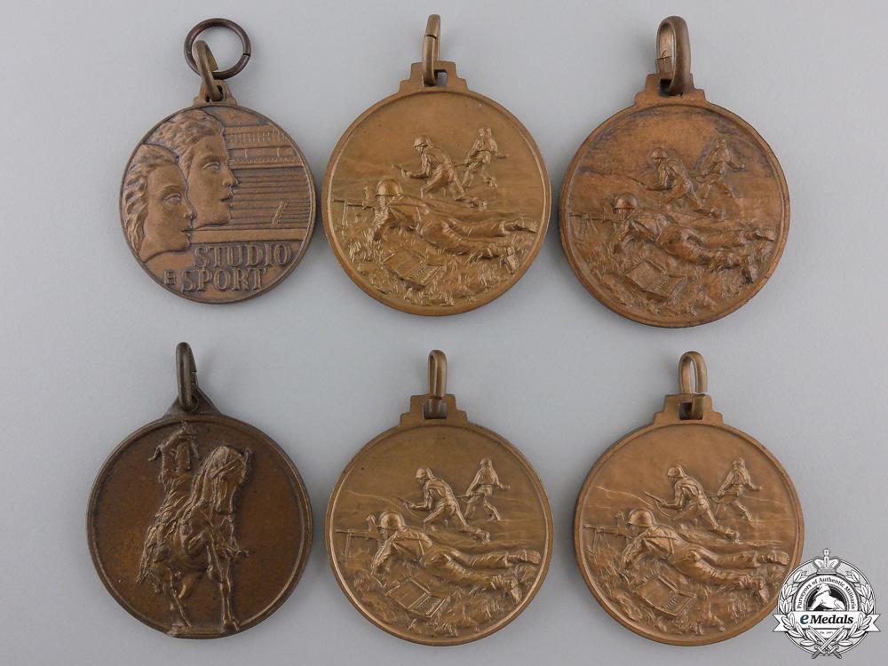 eMedals-Six Republican Era Italian Medals & Awards