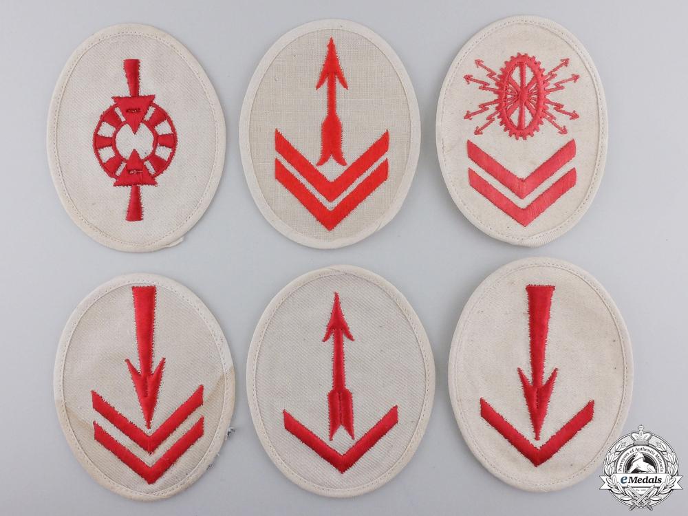eMedals-Six Second War Kriegsmarine Specialty Trade Badges