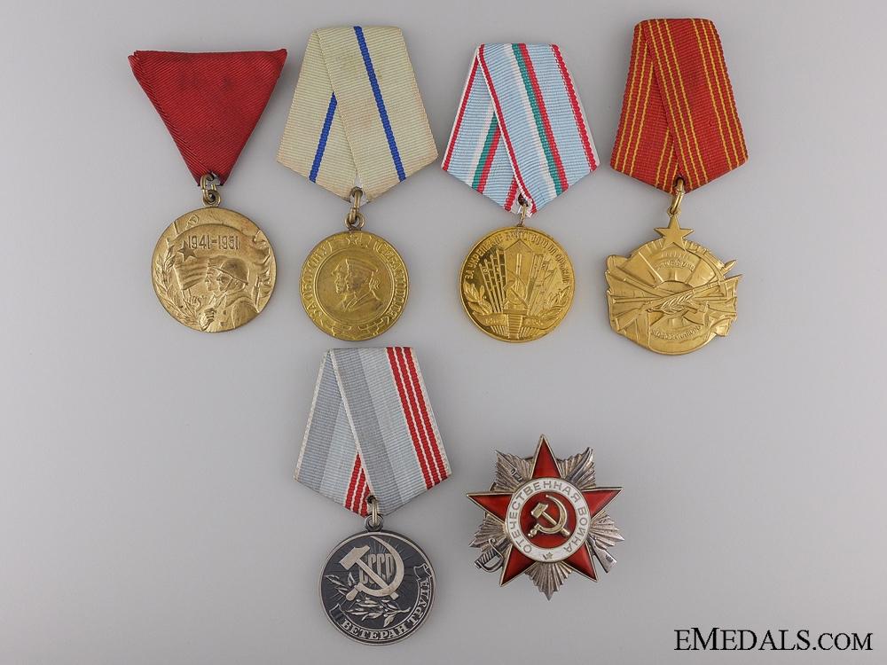 eMedals-Six Socialist Medals