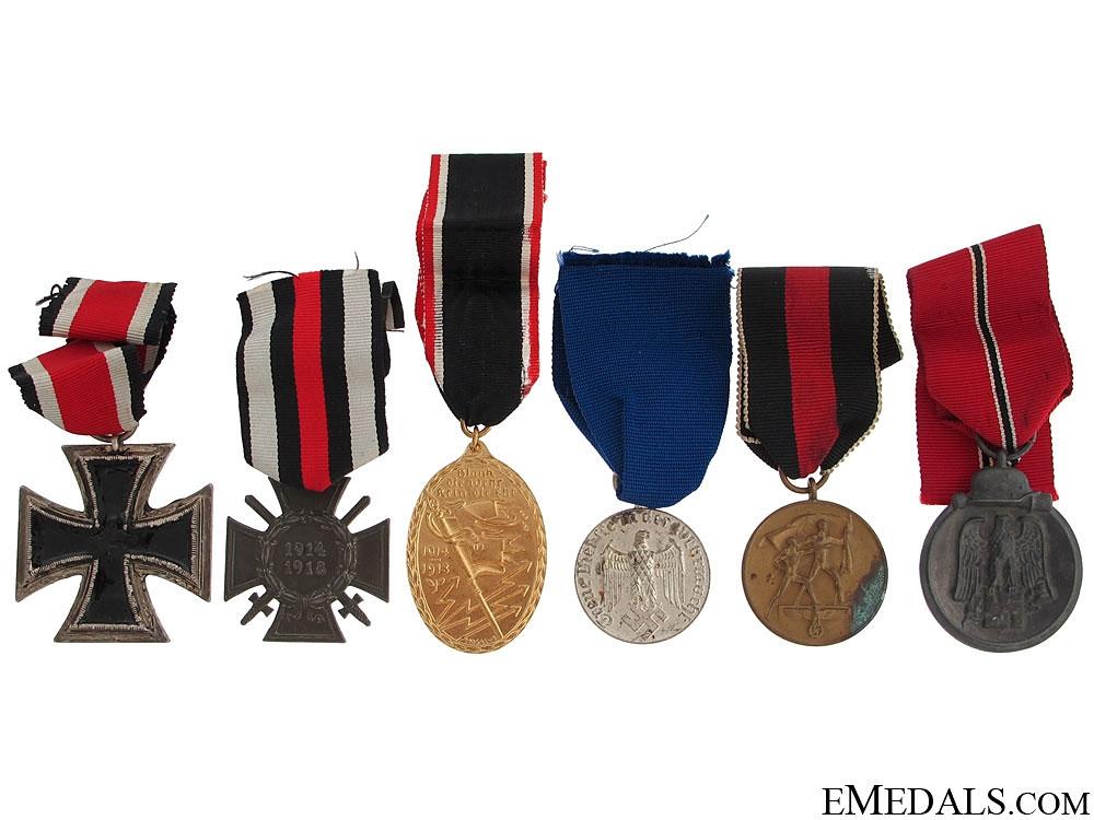 eMedals-Six Third Reich Awards
