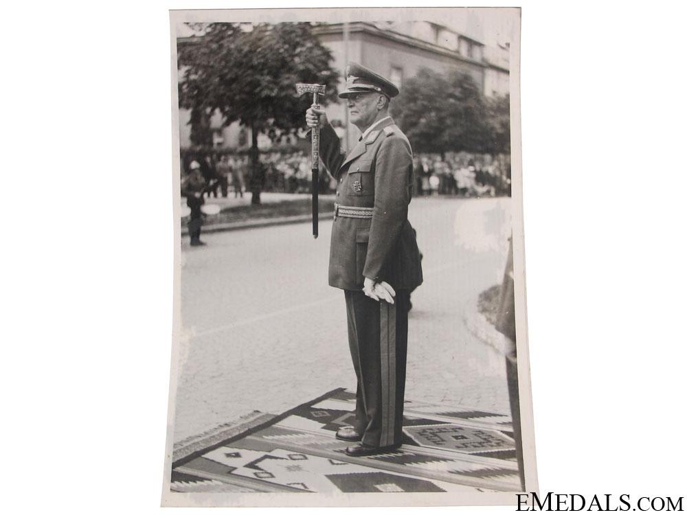 eMedals-Slavko Kvaternik Photograph