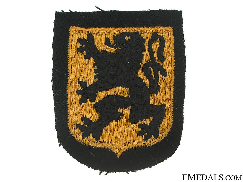 eMedals-Sleeve Shield of the Waffen-SS Legion Langemarck