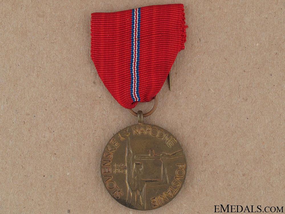 eMedals-Slovak National Uprising Medal 1944-1964