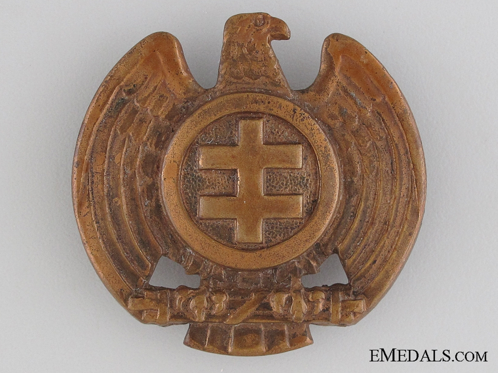 eMedals-Slovakian Hlinka Youth Cap Badge