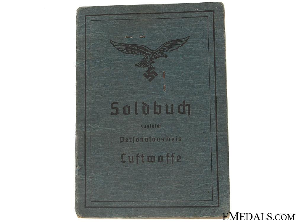eMedals-Soldbuch to Paratroop Feldwebel
