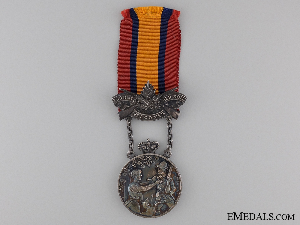 eMedals-A Toronto 1902 South African War Welcome Medal by P.W. Ellis