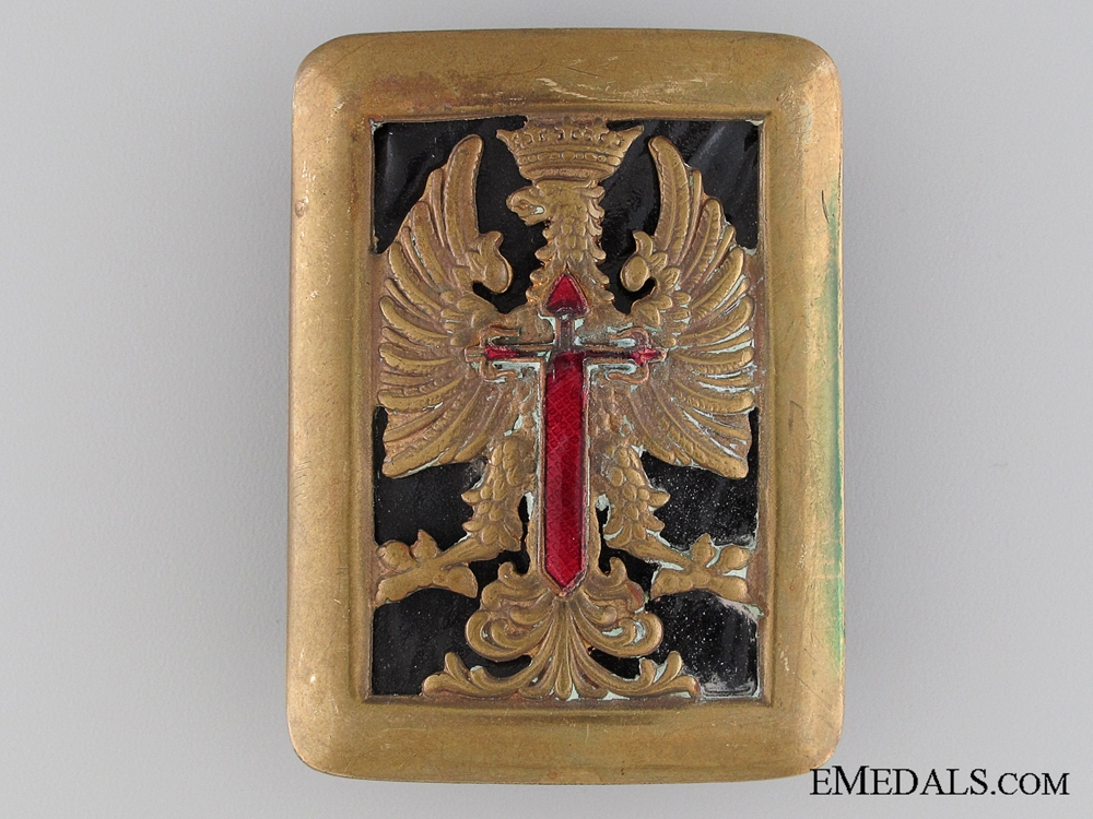eMedals-Spainish Army Belt Buckle; Franco Period