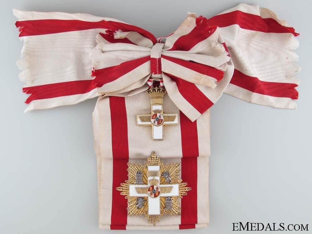 eMedals-Spanish Air Force Order of Merit - Grand Cross