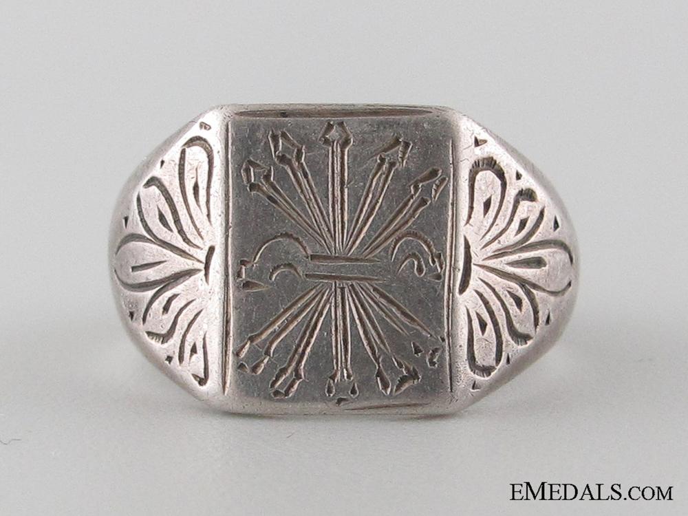 eMedals-Spanish Civil War Falange Ring