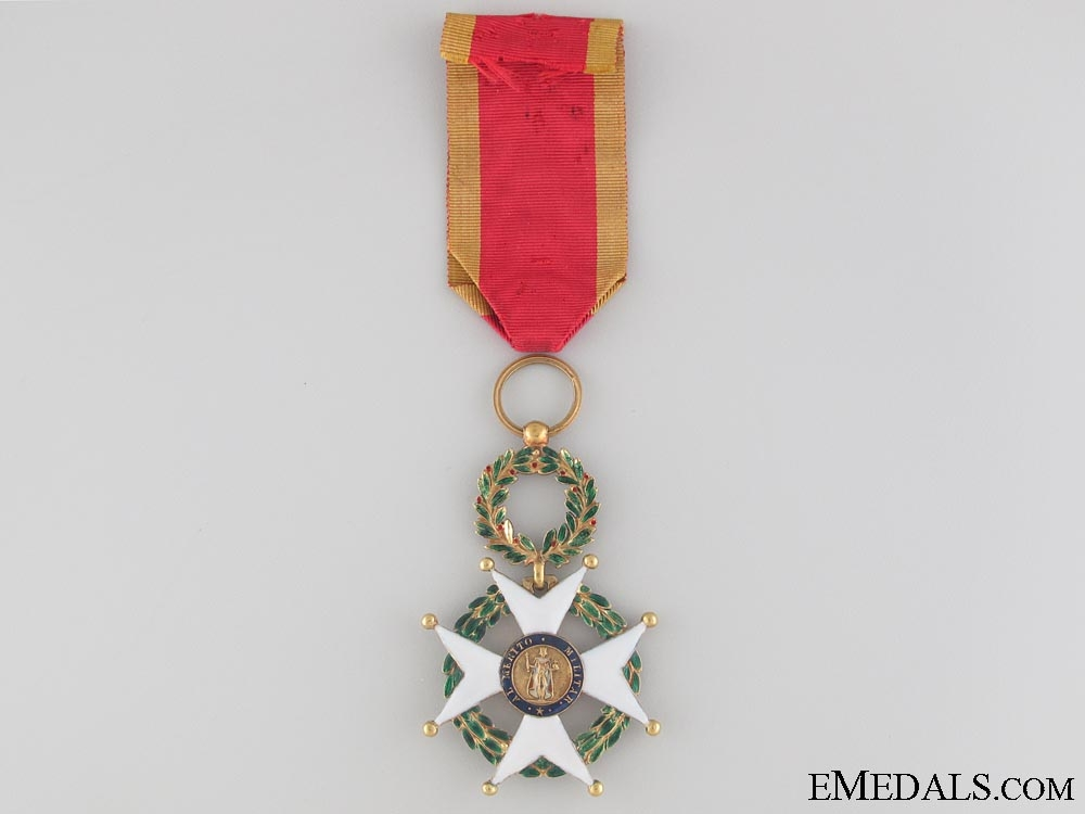 eMedals-Spanish Order of Military Merit in Gold