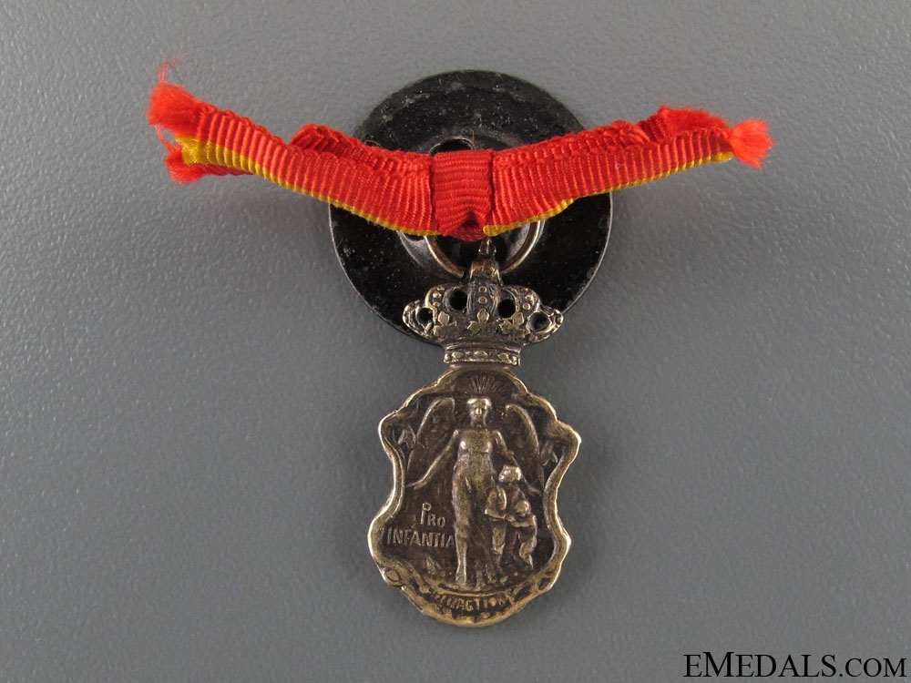 eMedals-Spanish Protection of Children Medal