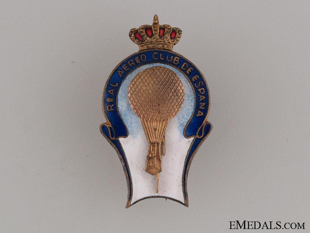 eMedals-Spanish Royal Aero Club Pin