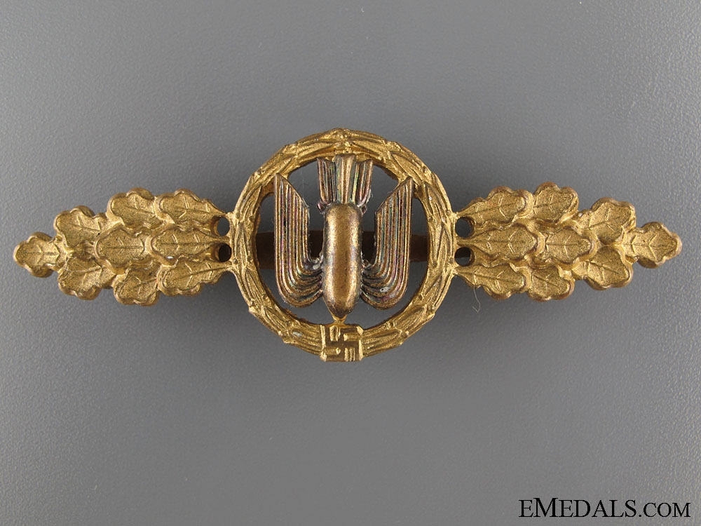 eMedals-Squadron Clasp for Bomber Pilots- Gold