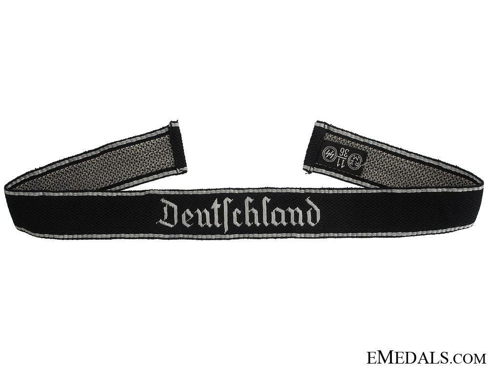 eMedals-SS Deutschland Officer's Cufftitle
