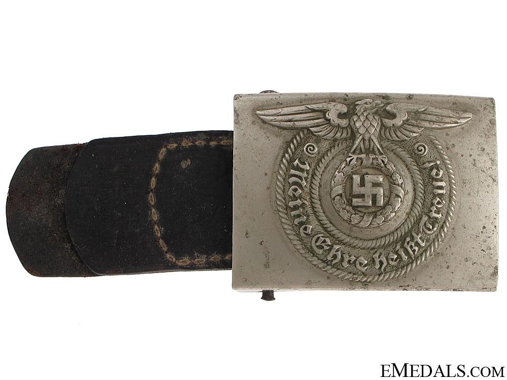 """eMedals-SS EM Belt Buckle by """"O & C ges. Gesch."""""""
