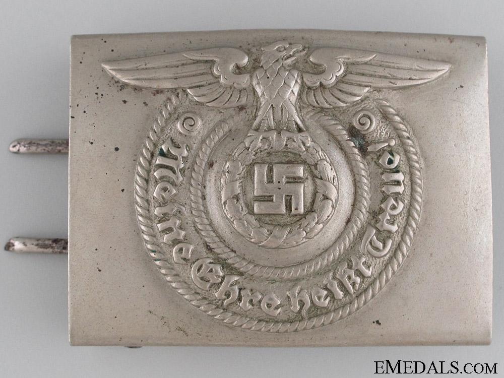 eMedals-SS EM Belt Buckle by O & C ges. Gesch.