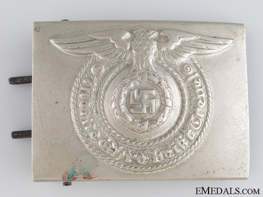 "eMedals-SS EM/NCO'S ""Fat Eagle"" Belt Buckle"
