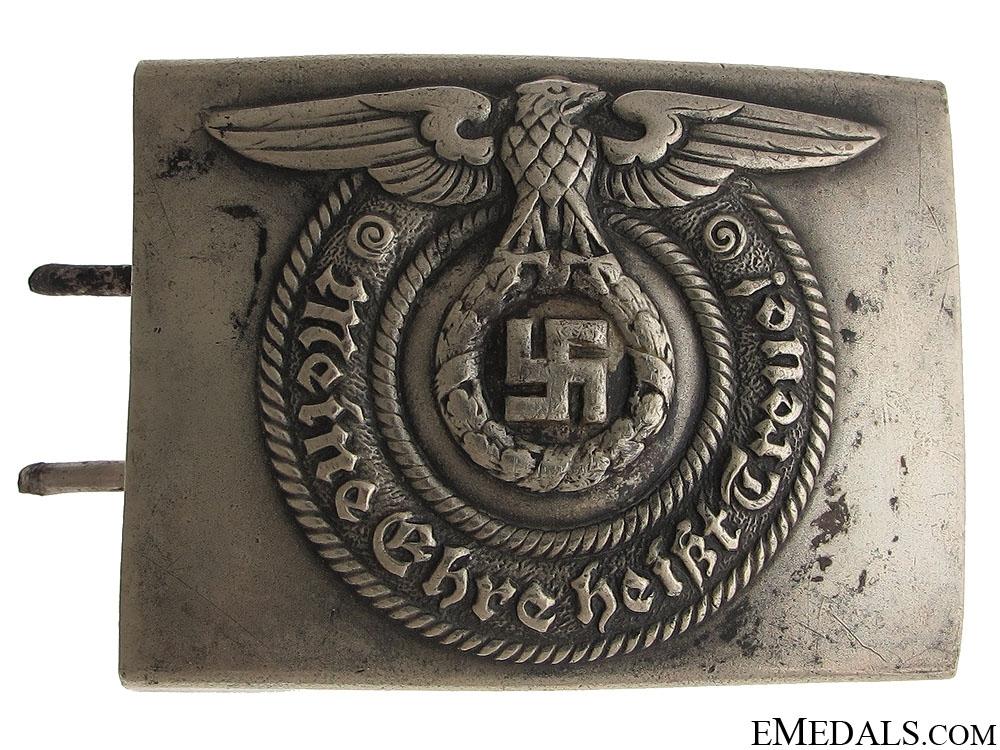 eMedals-SS EM/NCOS Belt Buckle