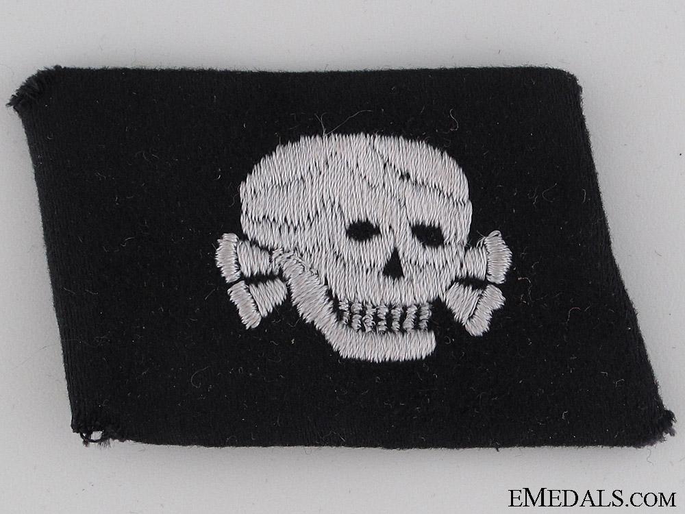 """eMedals-SS Totenkopf Dachau EM/NCO""""¢¯s Collar Tab"""