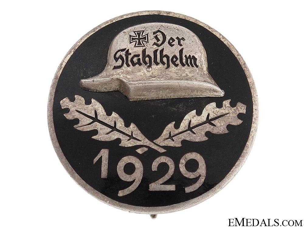 eMedals-Stahlhelm Membership Badge 1929