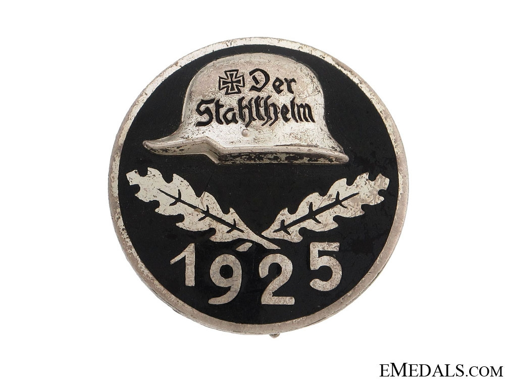 eMedals-Stahlhelm Membership Badge 1925