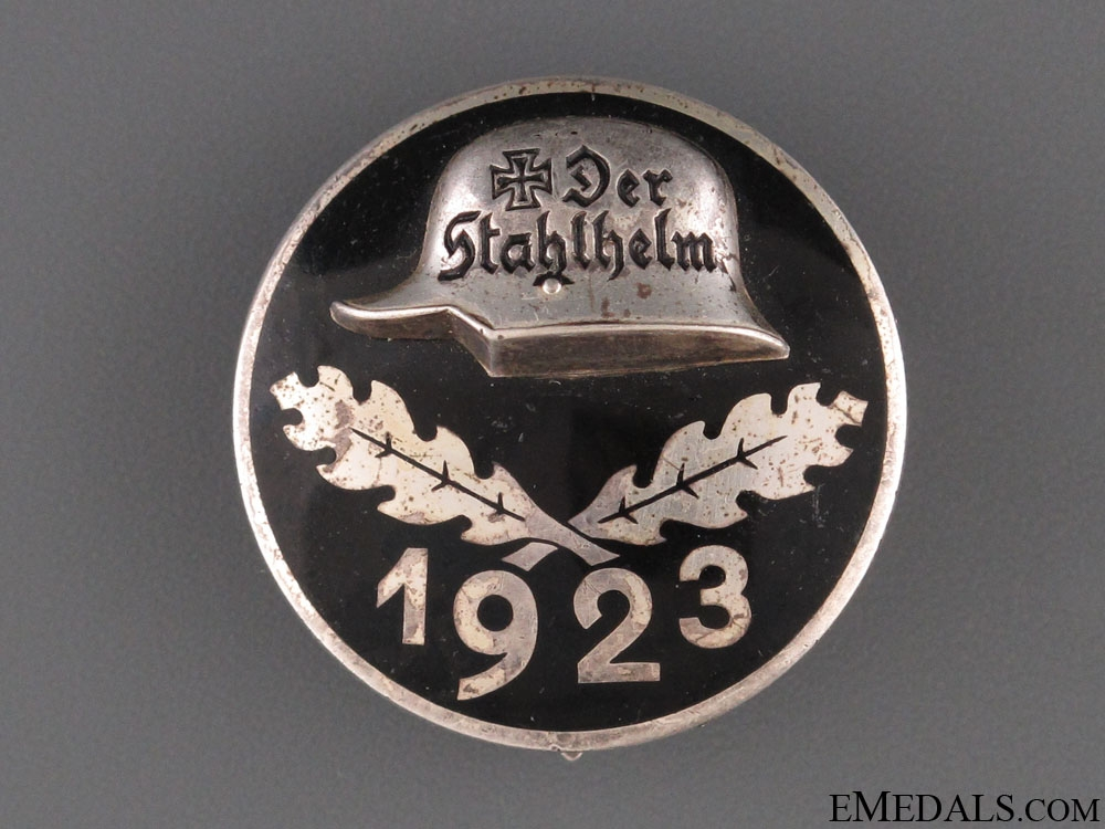 eMedals-Stahlhelm Membership Badge 1923