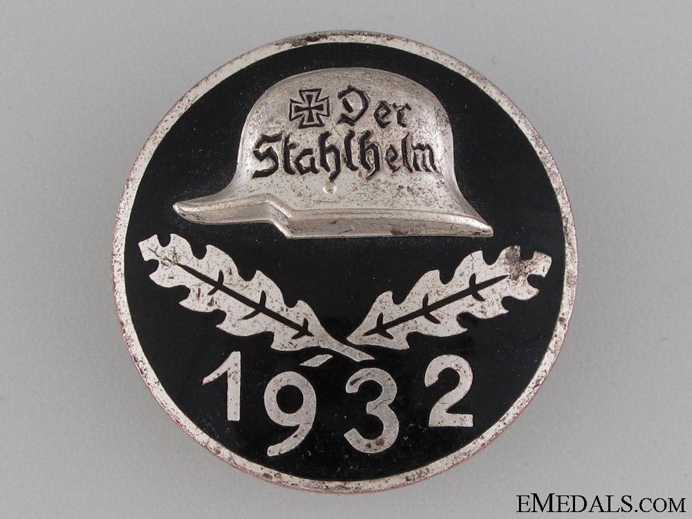eMedals-Stahlhelm Membership Badge 1932