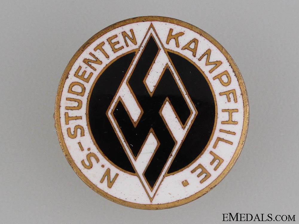 "eMedals-Students Federation ""Kampfhilfe"" Aid Badge"