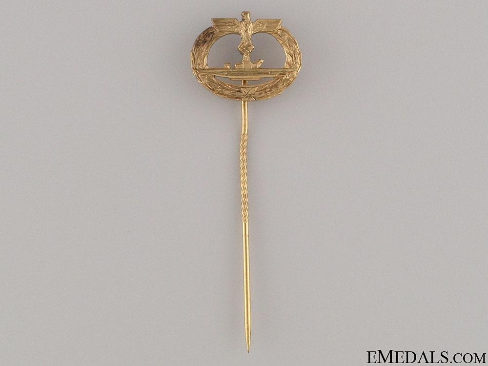 eMedals-Submarine War Badge Stickpin