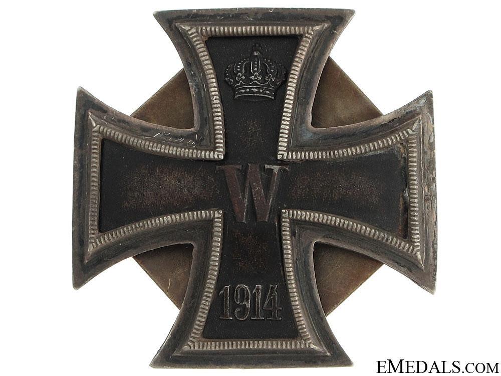 eMedals-Superb Iron Cross 1st. Class 1914